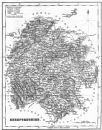 HEREFORD: Herefordshire: Fullarton, 1836 map